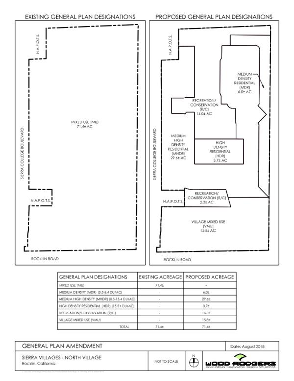 Sierra Villages - North General Plan Amendment