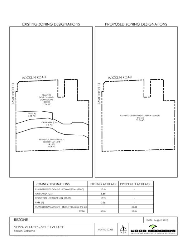 Sierra Villages - South Rezone
