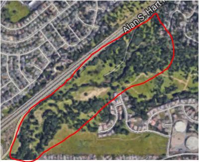 Vista Oaks Subdivision Map